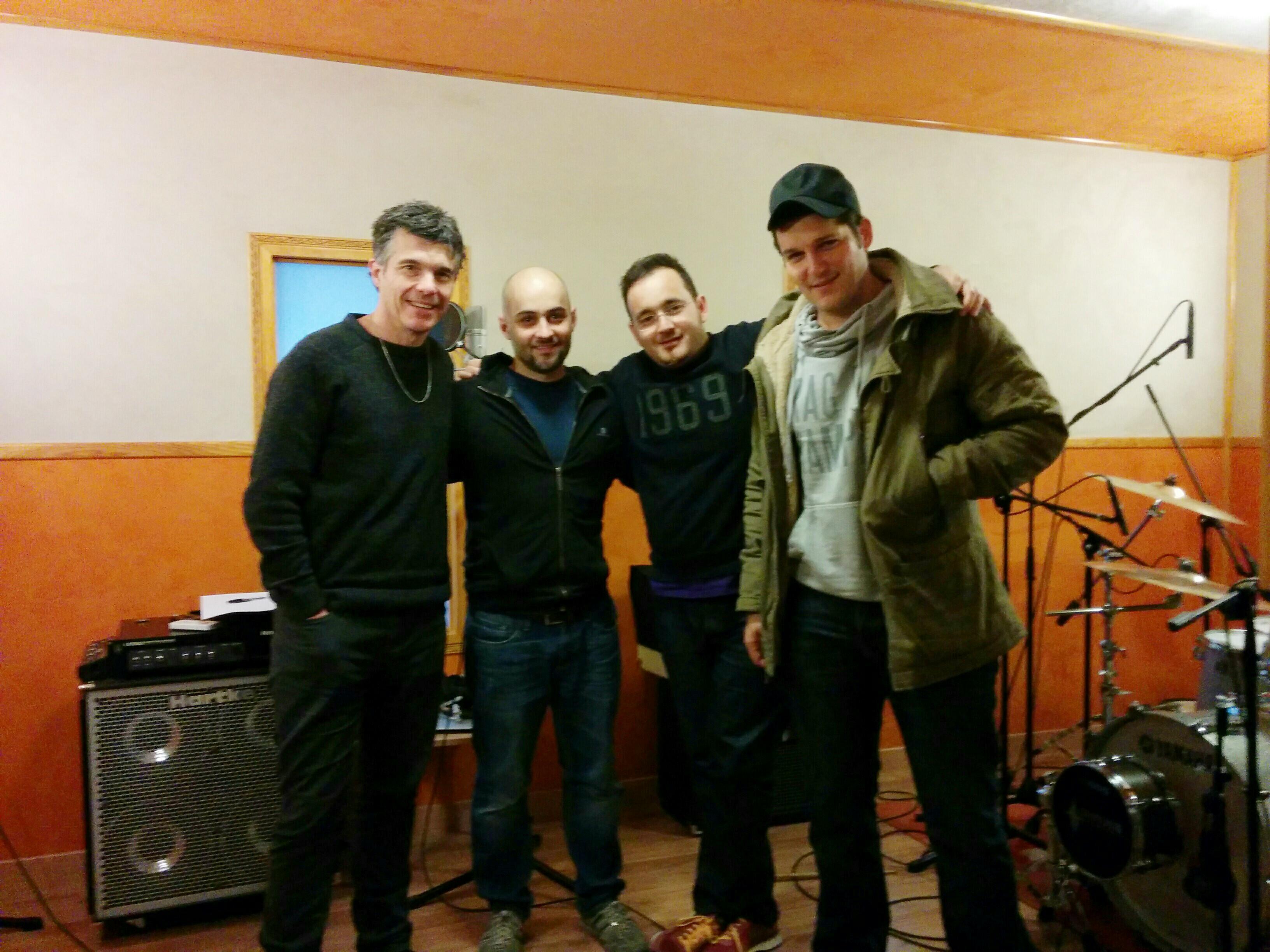 Grabación estudio Manu Tenorio
