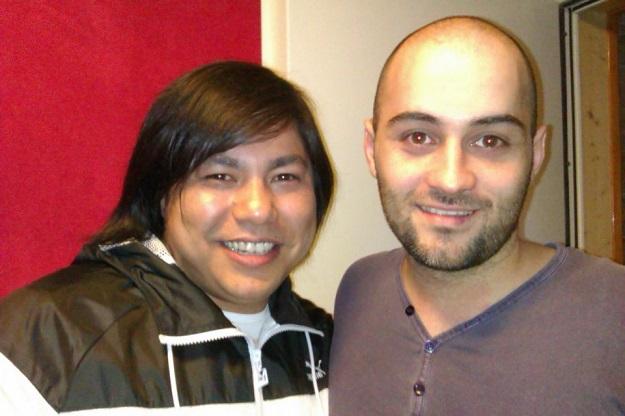 Grabación estudio Óscar Reyes