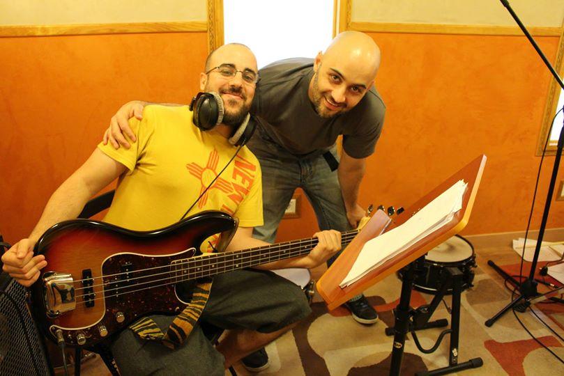 Grabación disco de Santiago Paulet