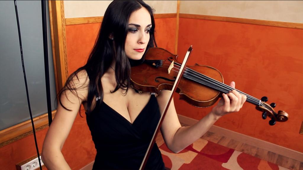 Grabación violines estudio madrid