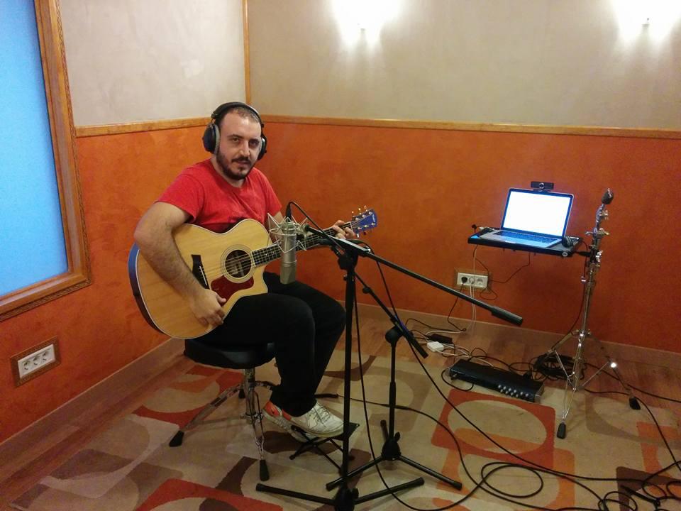 grabacion de guitarras online estudio