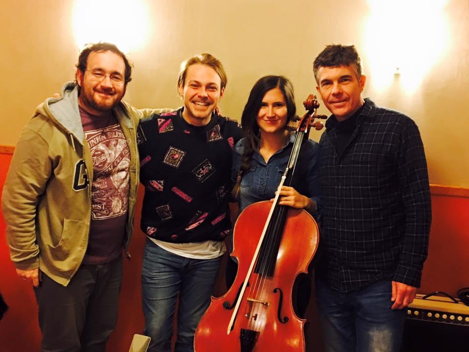 Estudio grabación violonchelo madrid