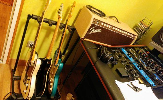 Robin Grove estudio Guitarras