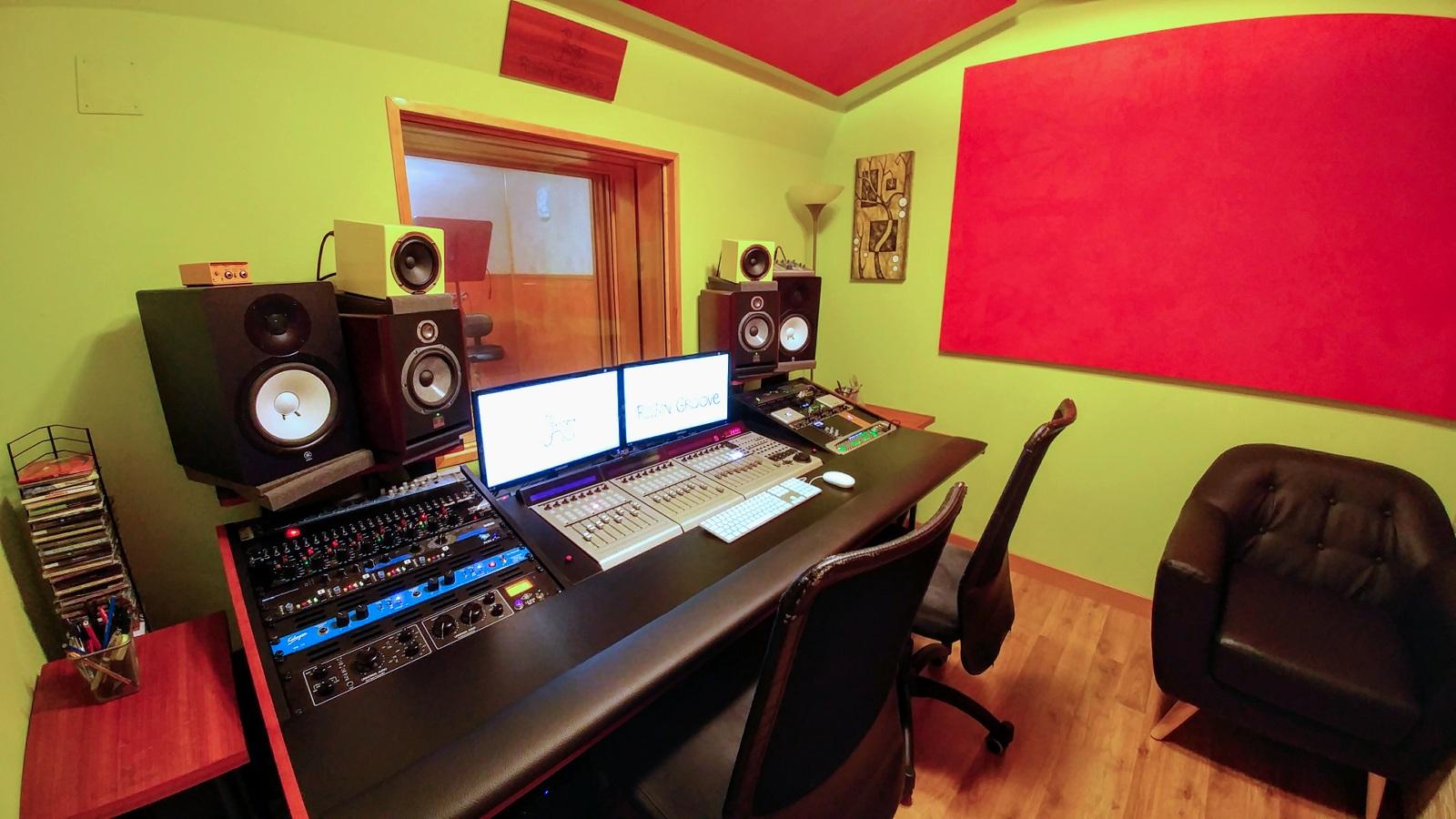 Robin Groove Estudio Grabación Sala de Control